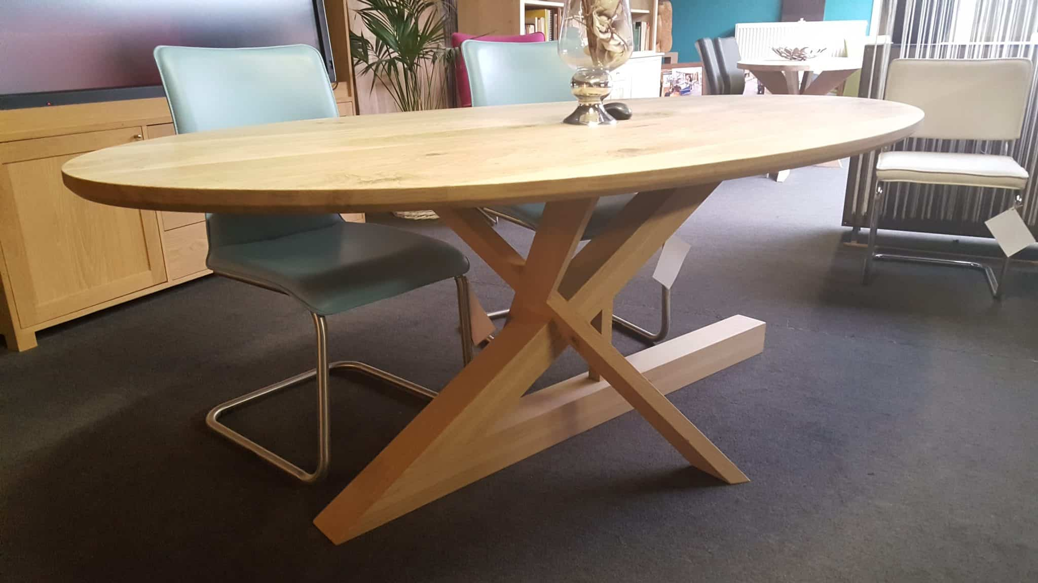 LePierre massief eiken houten design keuken tafel 2