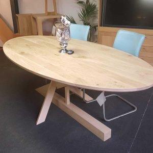 lepierre massief eiken houten design keuken tafel