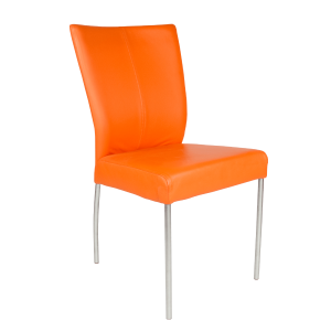 leren design stoel eetkamer